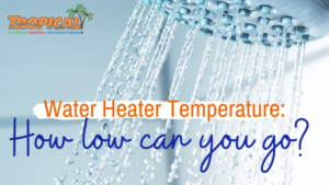 WATER HEATER TEMPERATURE: HOW LOW CAN YOU GO?